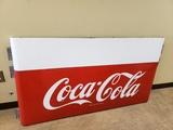 1950s Coca Cola 5' Sled Sign
