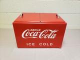 1950-60's Wood Coca Cola Cooler