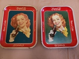 1950-52 Coca Cola Trays