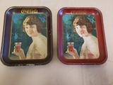 1924 Coca Cola Trays