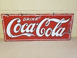 1920s Coca Cola Porcelain Sign