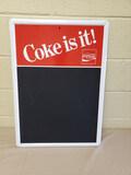 1983 NOS Coca Cola Menu Board