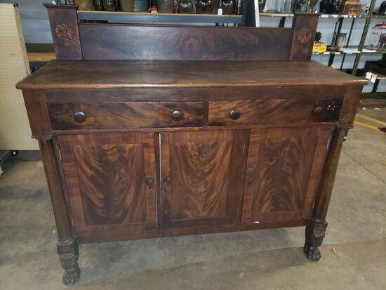 Fine Clark Co. Georgia Sideboard 1840s