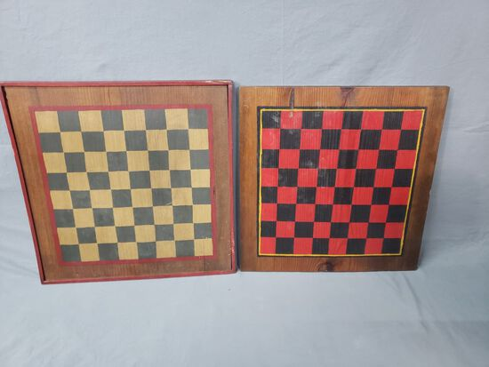 JP Reid Family Hand Painted Checkerboards
