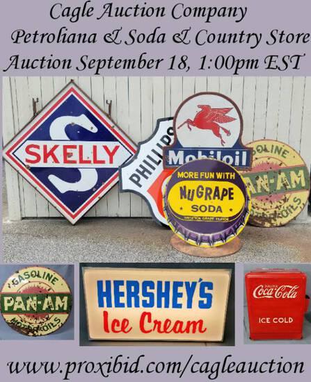 Fall Advertising & Americana Auction