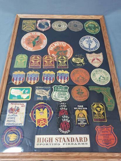 1940-50's Florida Gun Club, NRA Patches