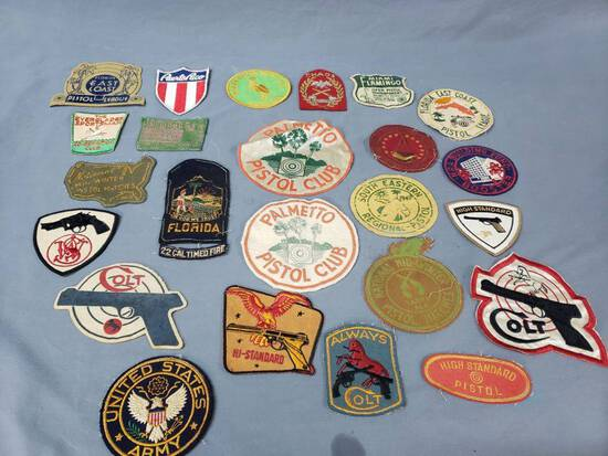 1940-50's Florida Gun Club & Colt Patches
