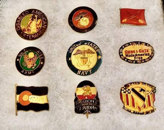Patriots' Pin Lot