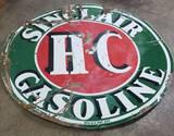 Sinclair Gasoline D/S Porcelain 6