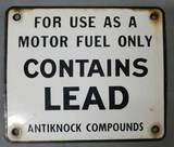 Porcelain Contains Lead Pump Plate