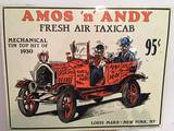Reproduction Amos & Andy Sign