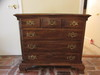 "Chest of Drawers with Brass Hardware--34"" x 18"","