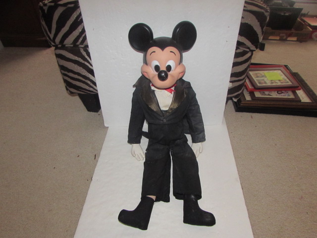 Mickey Mouse Ventriloquist Doll, 1973   Art, Antiques