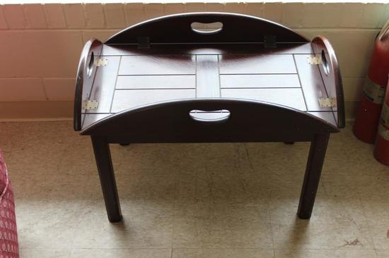 """Butlers Table 27 1/2"""" x 17 1/2"""" x 20"""""""