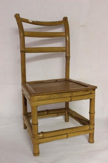 """Bamboo Child's Chair 21"""" tall (Made with Bamboo"""