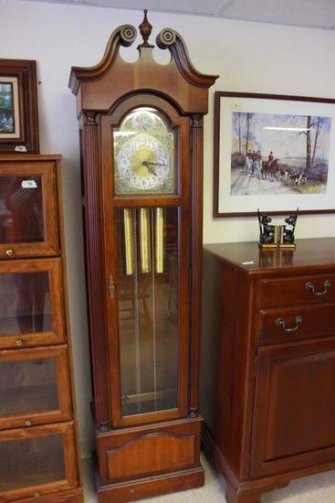 "Howard Miller Grandfather Clock 21"" x 12"" 81"""