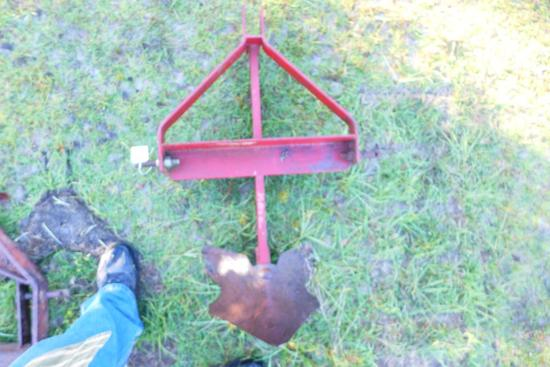 3 Pt. Hitch with Middle Buster (Big Bee Plow)