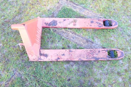 Pallet Jack Platform