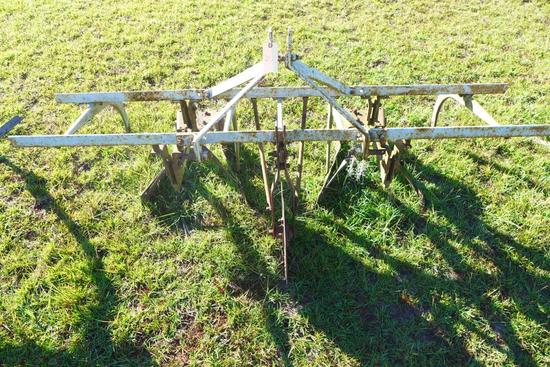 3 Pt Hitch 2-Row Cultivator w/Sheffield Sweeps