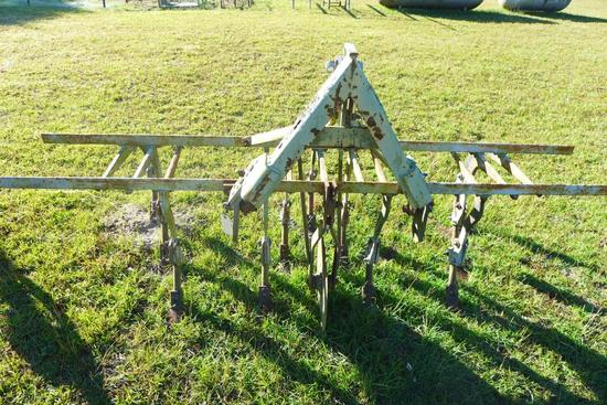 3 Pt Hitch 2-Row Cultivator w/ Siding Feet and
