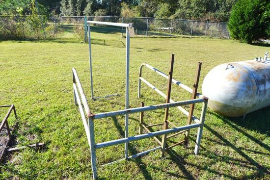 Assorted Metal Iron Racks