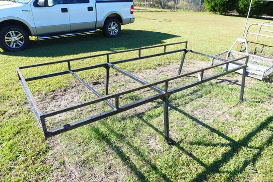 4' x 10' Metal (Over Cab) Truck Ladder or Pipe