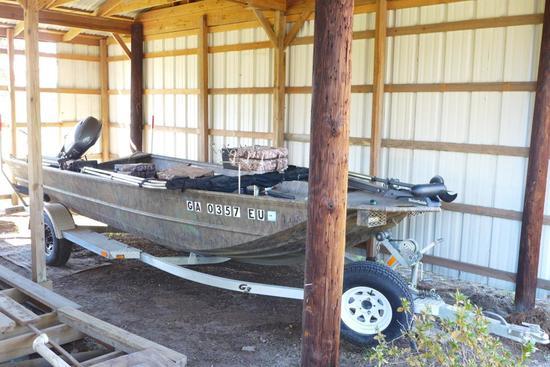 2015 Gator Tough G31860 DK 18' Boat