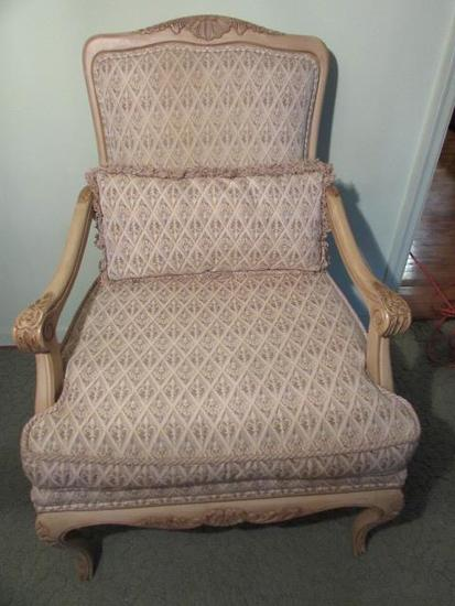 Wood & Upholstered Arm Chair--Century Furniture
