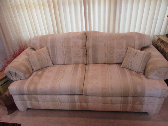 """Upholstered Sofa--93"""" Long"""