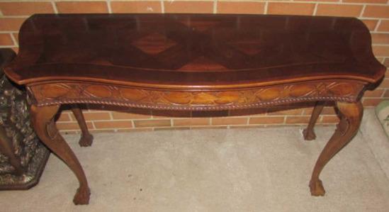 """Sofa/Hall Table--51"""" x 19"""", 27 3/4"""" High"""