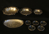Box of WMF-Ikora Silver Plate Items, etc:  Footed