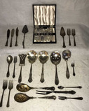 Assorted Silver Plate Flatware, etc.: