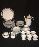Set of Gibson China:  (8) Dinner Plates, (6)