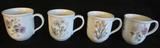 (4) Noritake Casual Gourmet Garden Mugs