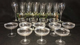 Assorted Stemware: (2) Sets of (4), (1) Set of