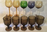 Assorted Stemware: (1) Set of (5), (1) Set of
