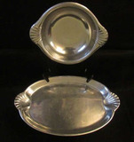 (2) Pieces of Wilton Armetale Pewter:  Round 10
