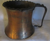 Vintage Pewter Washed Copper Jug (Iran)--6 3/4