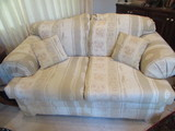 Upholstered Loveseat--69