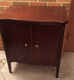 Vintage Record Cabinet 25 in. x 27 in. x 18 in.