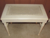 Vanity Bench with Cane Seat--23