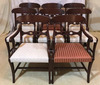 (8) Mahogany Dining Chairs (6)--Side Chairs & (2)