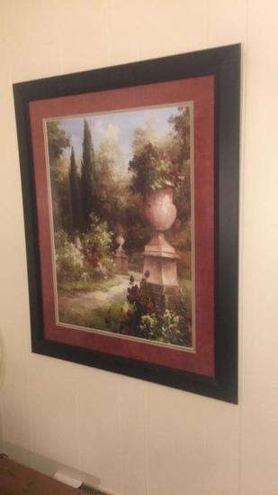 """Framed & Signed Double Matted Print--30 1/2"""" x"""