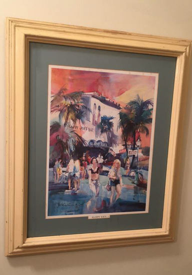 Framed Limited Edition Print--Sloppy Joes's,