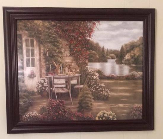 """Framed Print--23 1/2"""" x 19"""""""