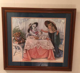 Framed & Double Matted Print--25 1/2