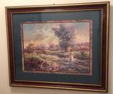 Framed & Matted Print--Lee K. Parkinson--22 1/2