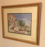 """Framed & Double Matted Print—22 1/2"""" x 18 1/4"""""""