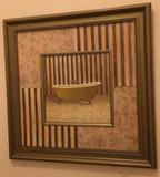"""Framed Print—19 1/2"""" Square"""