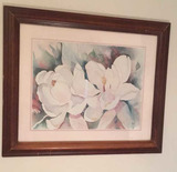 """Framed and Matted Print—24"""" x 19 1/2"""""""